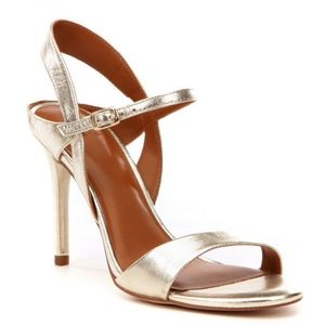 NEW Halston Heritage Ainsley Leather Sandal